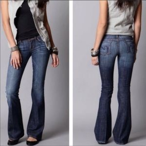 Citizens of Humanity Flare Dark Wash Jeans